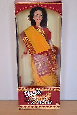 2000 Collector Edition Dolls of the World BARBIE IN INDIA