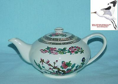 Indian Tree Pattern Tea Pot Lord Nelson Pottery E Cotton Staffordshire Pottery