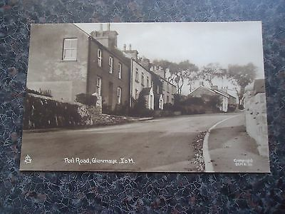 Postcard Peel Road Glenmaye Isle Of Man Tucks 1930S ???