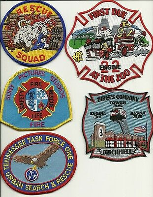 5 Company Fire Patches #26