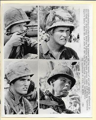 1966 Vietnam 1st Cavalry Division Troopers Operation Eagle Claw Orig. News Photo