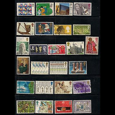 GREAT BRITAIN: small lot of stamps [1] -- used --