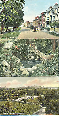Armagh three unused picture postcards of the county