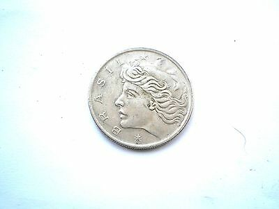 Early 20 Centavos Coin From Brazil-Dated 1975 Nice