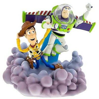 Disney Parks Pixar Toy Story 20th Buzz Lightyear & Woody Light-Up Medium Figure