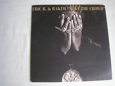"ERIC B & RAKIM Move The Crowd UK 7"" single PS 1987 ex+/ex"