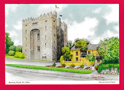 Unposted card. Bunratty Castle, County Clare, Ireland