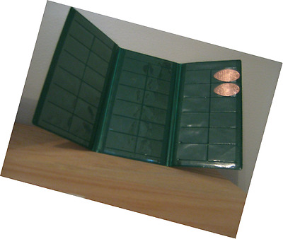 Green Souvenir Penny Collecting Book for Elongated Pennies