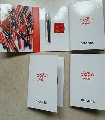 Chanel 4 Minis Rouge  Coco Gloss