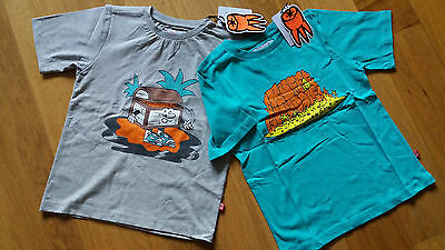"""""""ruff And Huddle"""" Designer Brand,two T`shirts,age 6/7, Retail £44.00"""