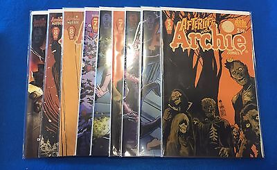 Afterlife with Archie  Lot of COMICS New - (ARCHIE  Comics)   (9 comics total)