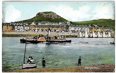 Paddle Steamer Queen Of The Conway At Deganwy