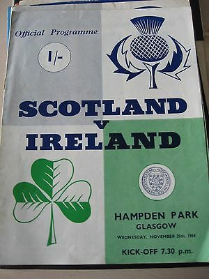 25.11.1964 Scotland v Ireland @ Hampden Park