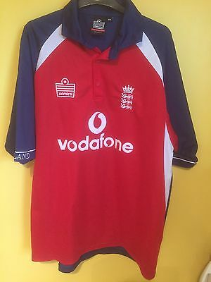 Official England ECB Cricket Shirt  Admiral - Size XL Adults