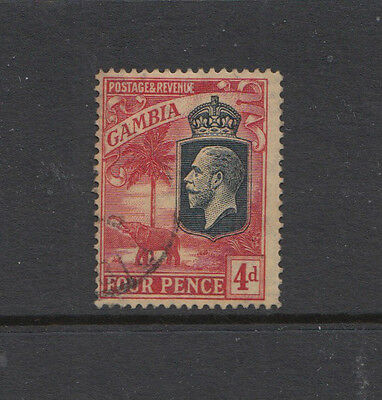 A very nice old Gambia 4d George V issue