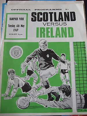 6.5.1969 Scotland v Ireland @ Hampden Park