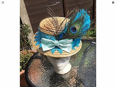 Vintage Edwardian Downtown Style Hat -Steampunk Victorian