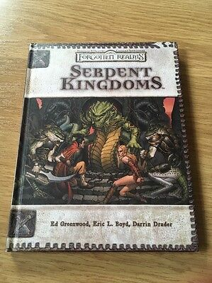 Serpent Kingdoms  by Greenwood, Boyd Forgotten Realms Dungeons & Dragons 3.5 Ed