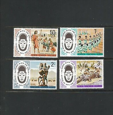 """KUT:  four [#316 -->#319]  """"Festival of Arts and Culture"""" stamps -- MNH --"""