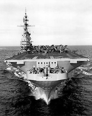 USS Midway CV-41 9X12 Photo Aircraft Carrier CVA Military Veteran 9x12