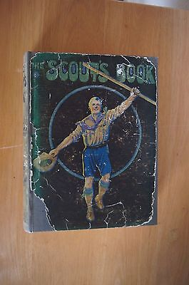 THE SCOUT'S BOOK For Boys Of All Sizes And Ages HB 1920 Rare Vintage Scouting