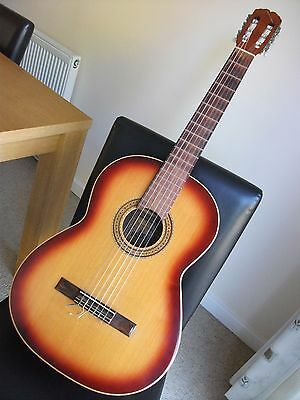 Admira 'Desiree' Spanish Classical Guitar 1974 with 'Ritter' Soft Carry Case 4/4