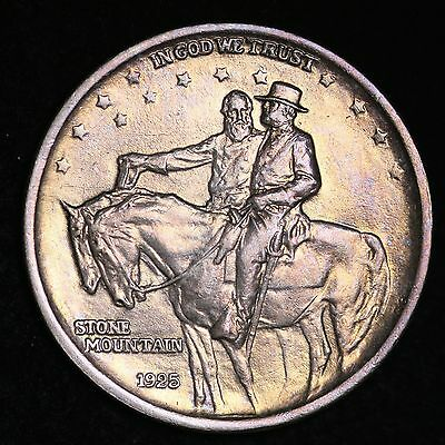 UNCIRCULATED 1925 Stone Mountain Silver Half Dollar FREE SHIPPING