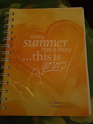 Brand New Slimming World Summer Journal / Diary / Meal Planner / Progress Chart.