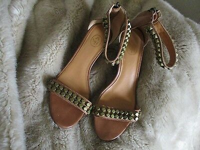 ASH Brown Wedges with Detail. UK 5 or Eur 38.