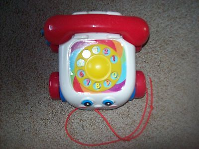 Fisher Price 2000 Pull Along Telephone