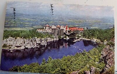 New York NY Lake Mohonk Mountain House Rondout Valley Postcard Old Vintage Card