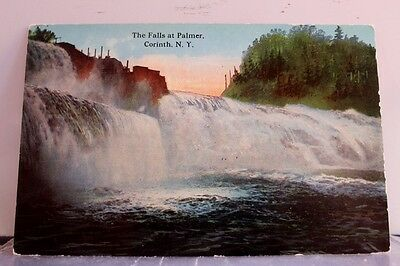 New York NY Corinth Palmer Falls Postcard Old Vintage Card View Standard Post PC
