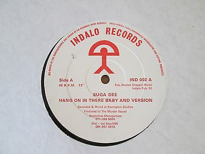 """Suga Dee – Hang On In There Baby 12""""  VGC NEO SOUL"""