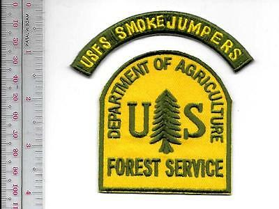 Hot Shot Wildland Fire Crew USFS Smokejumpers US Forest Service Airborne Firefig