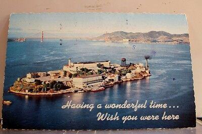 California CA San Francisco Alcatraz Island Postcard Old Vintage Card View Post