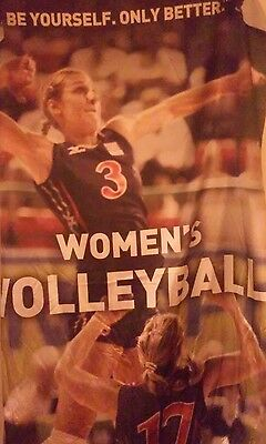 mizuno team USA volleyball cloth dealer banner