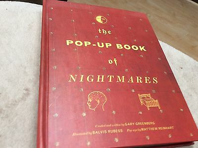 The Pop-up Book of Nightmares by Gary Greenberg (2004, Hardcover, Reprint)
