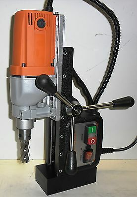 """SET of 2"""" ANNULAR CUTTERS & BLUEROCK ® BRM35A MAGNETIC DRILL Mag and broach set"""