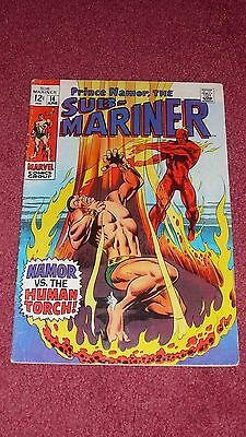 SUB-MARINER #14 (Marvel, 1969, FN) NR!