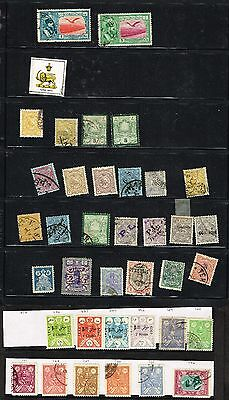 Persia Middle East Genuine And Forgery Lot F-Vf Mh And Used   (Fay18