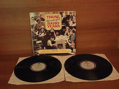 Decca Compilation : Those Wonderful Radio Years : Double Vinyl Album : RFLD34