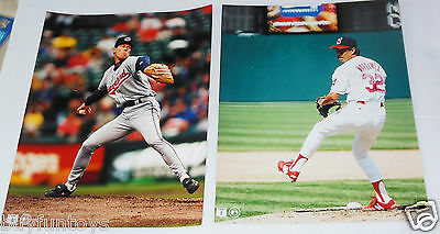 Cleveland Indians Vintage Color 8x10 Photographs 11 Diff Murray Francona Minoso