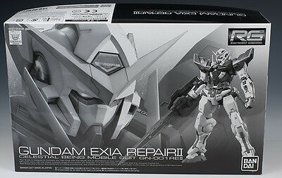 RG Real Grade Gundam Exia Repair II 1/144 model kit P Bandai Web Exclusive