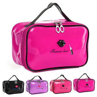 Travel Organizer Accessory Toiletry Gloss Cosmetic Make Up Holder Case Bag Pouch