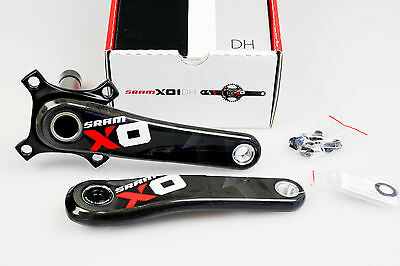 SRAM X01 DH GXP 83 165mm 1x11s Cranks Crankset Black/Red !! NEW !!