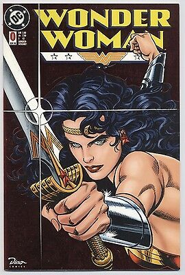 Wonder Woman # 0 Metallic Foil Cover (Wundergirl) - Dino Verlag 1998 - Top