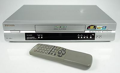 Panasonic Nv-Fj630 Vhs Recorder Mit S-Vhs Wiedergabe Video-Recorder +++