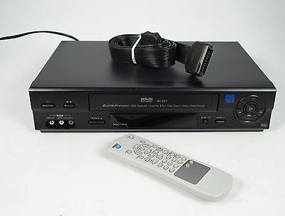 Silva Schneider Vrc 505 Y 6-Head Vhs Video-Recorder Long Play + Fernbedienung ##