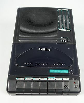 Philips Aq 6350 Kassetten Recorder Variable Speed Control !! Topzustand