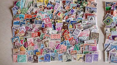 400 World Stamps, Used Off Paper, 3 Photos